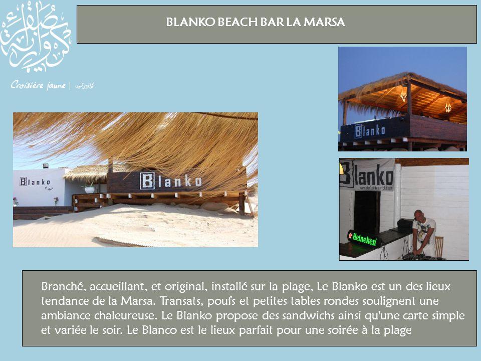 BLANKO BEACH BAR LA MARSA