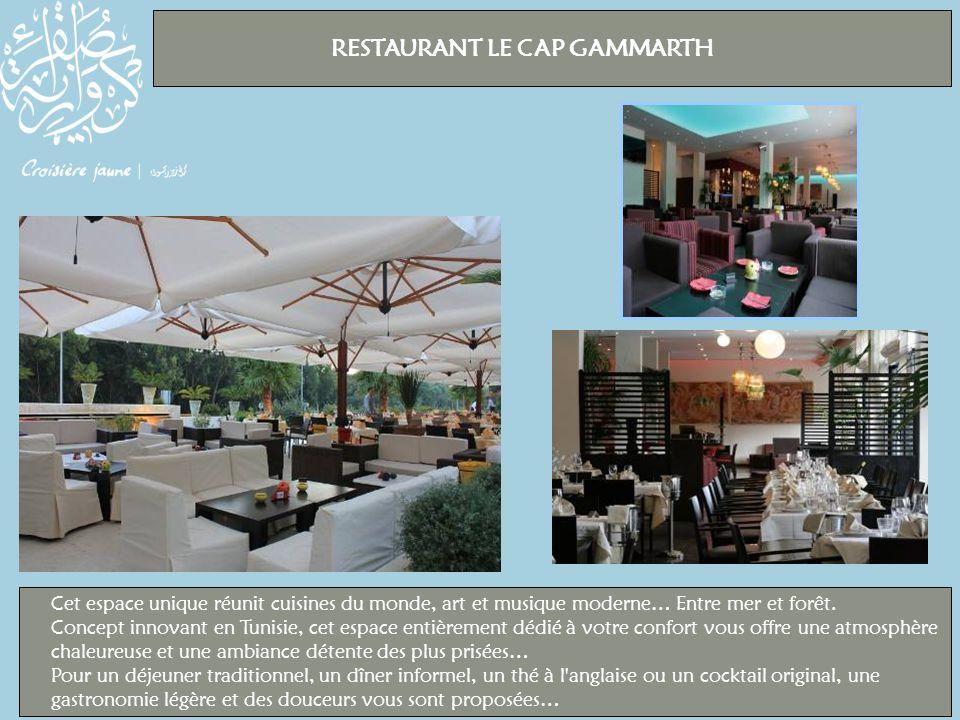 RESTAURANT LE CAP GAMMARTH