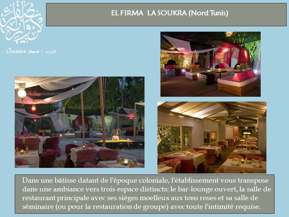 EL FIRMA LA SOUKRA (Nord Tunis)