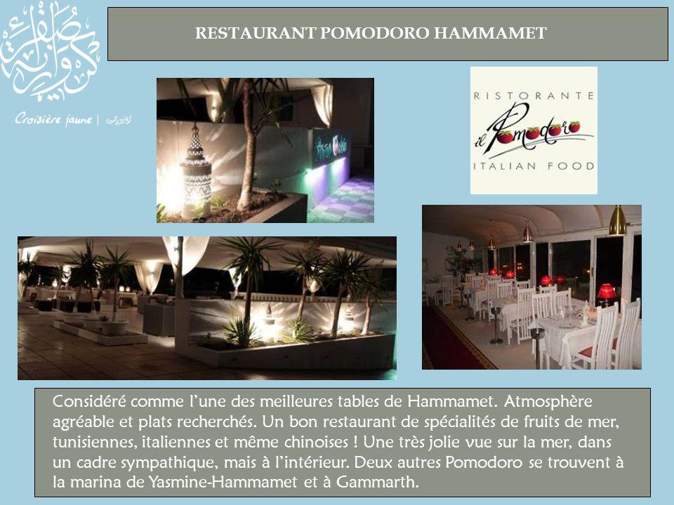 RESTAURANT POMODORO HAMMAMET