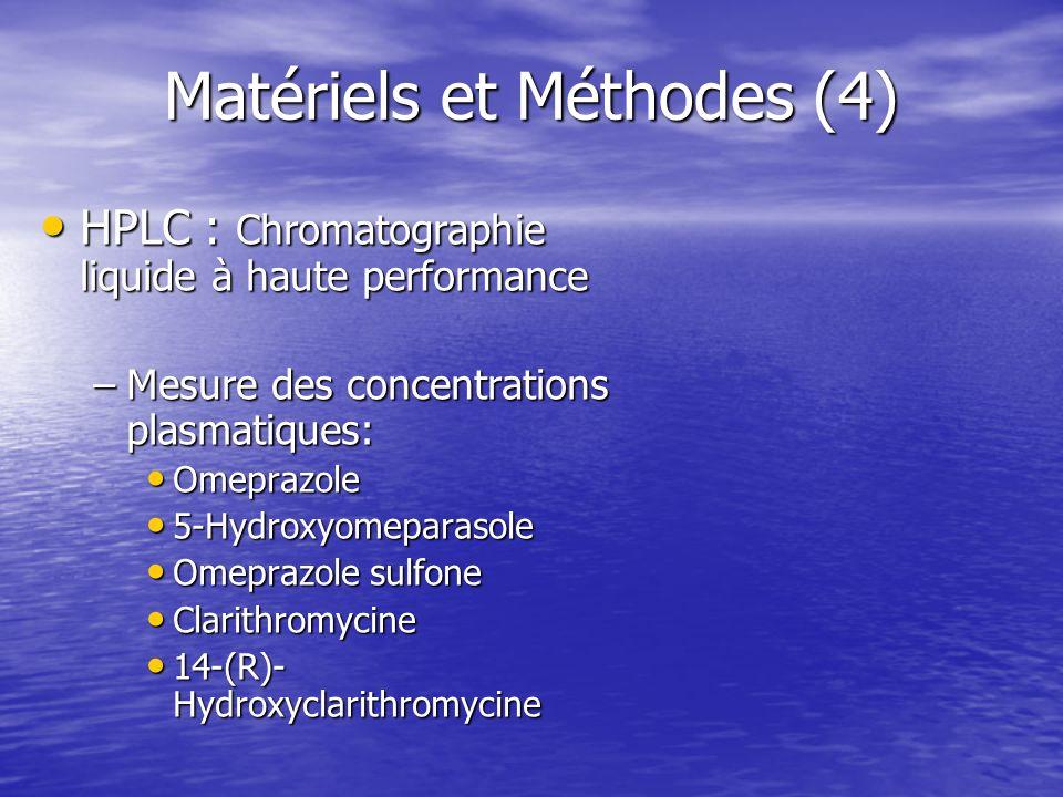 Matériels et Méthodes (4)