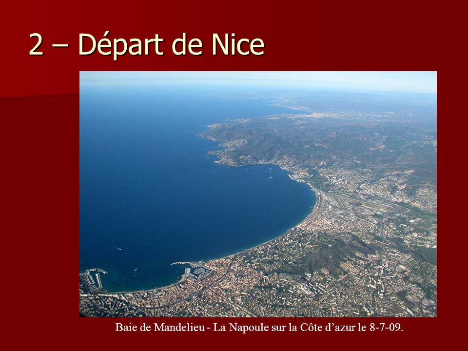 Baie de Mandelieu - La Napoule sur la Côte d'azur le 8-7-09.