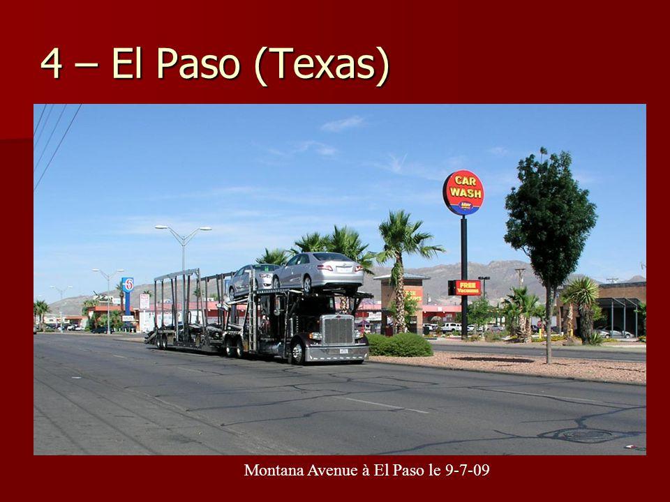 Montana Avenue à El Paso le 9-7-09