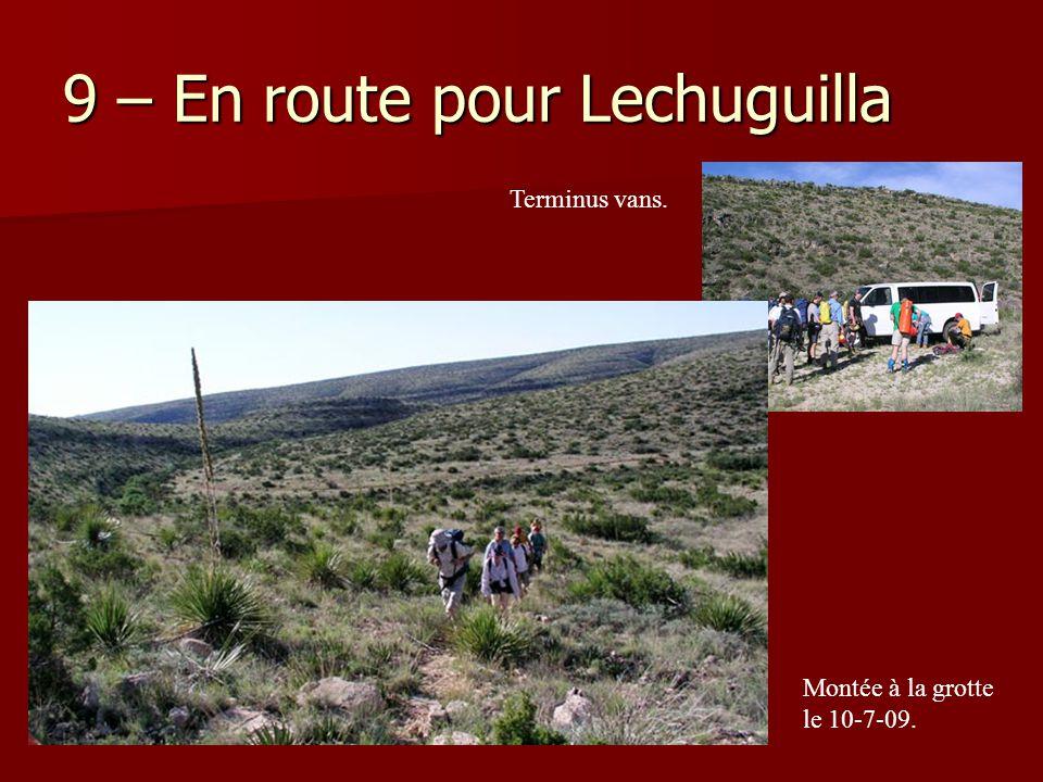 9 – En route pour Lechuguilla
