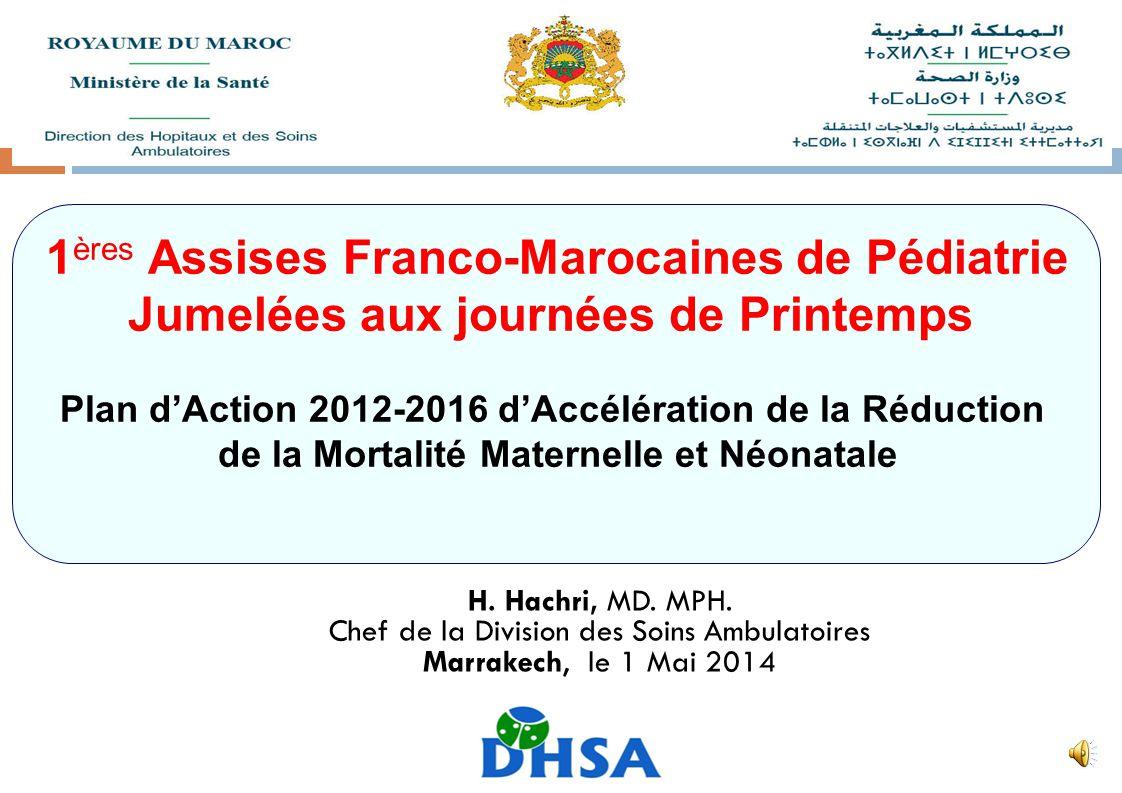 1ères Assises Franco-Marocaines de Pédiatrie