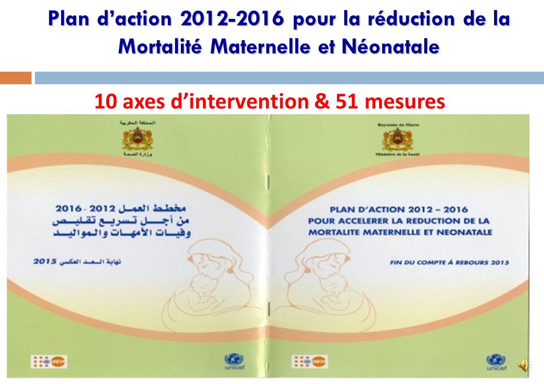 10 axes d'intervention & 51 mesures