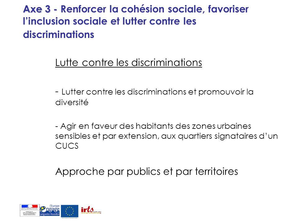Lutte contre les discriminations