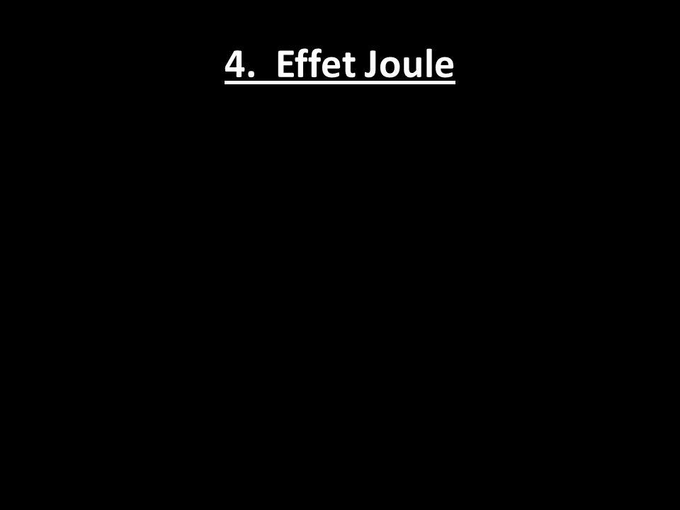 4. Effet Joule