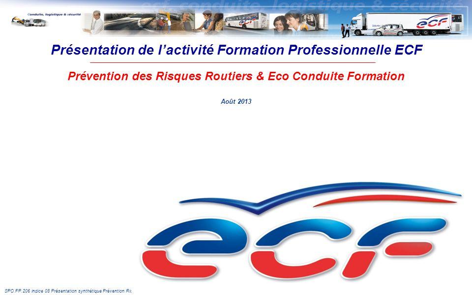 Présentation de l'activité Formation Professionnelle ECF