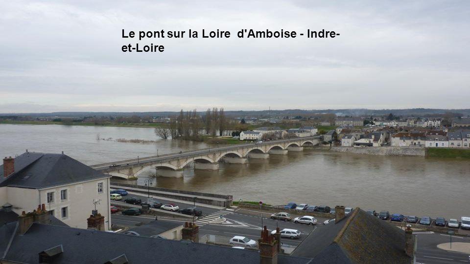 Le pont sur la Loire d Amboise - Indre-et-Loire