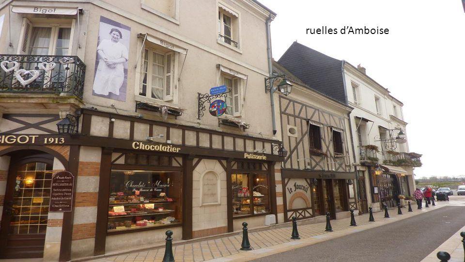 ruelles d'Amboise