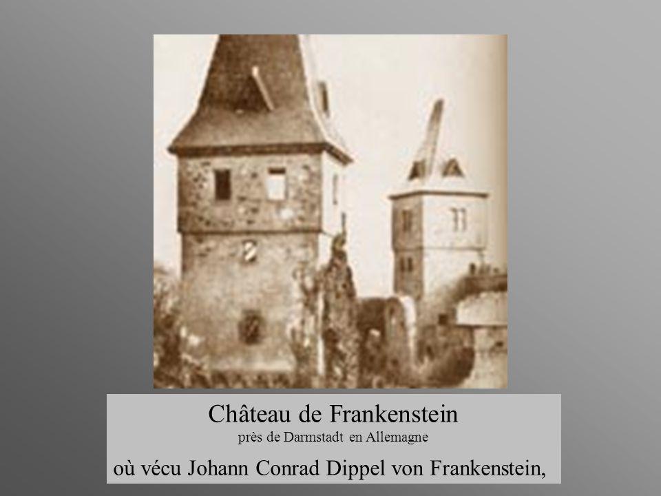 Fin Château de Frankenstein