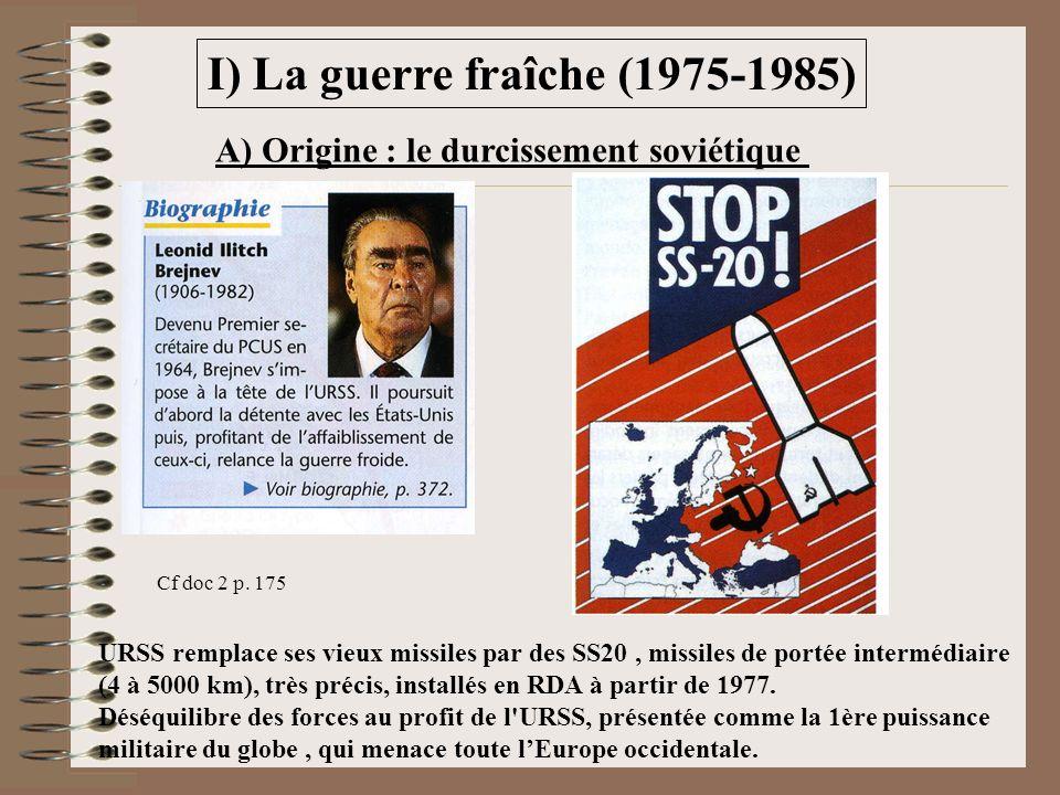 I) La guerre fraîche (1975-1985)