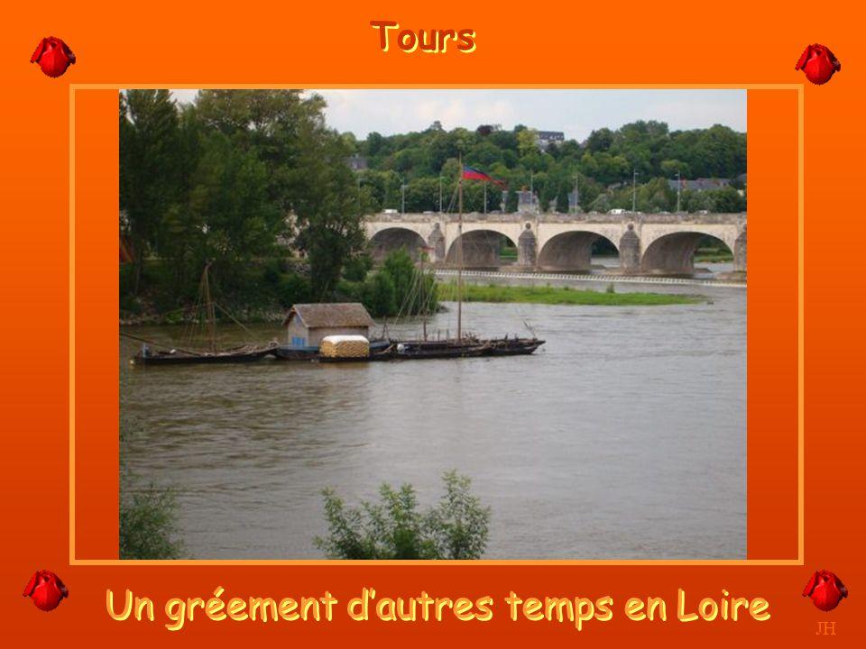 Un gréement d'autres temps en Loire