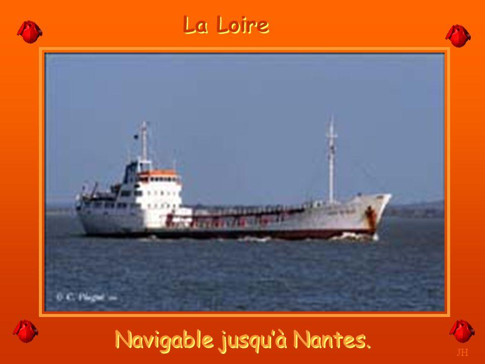 Navigable jusqu'à Nantes.