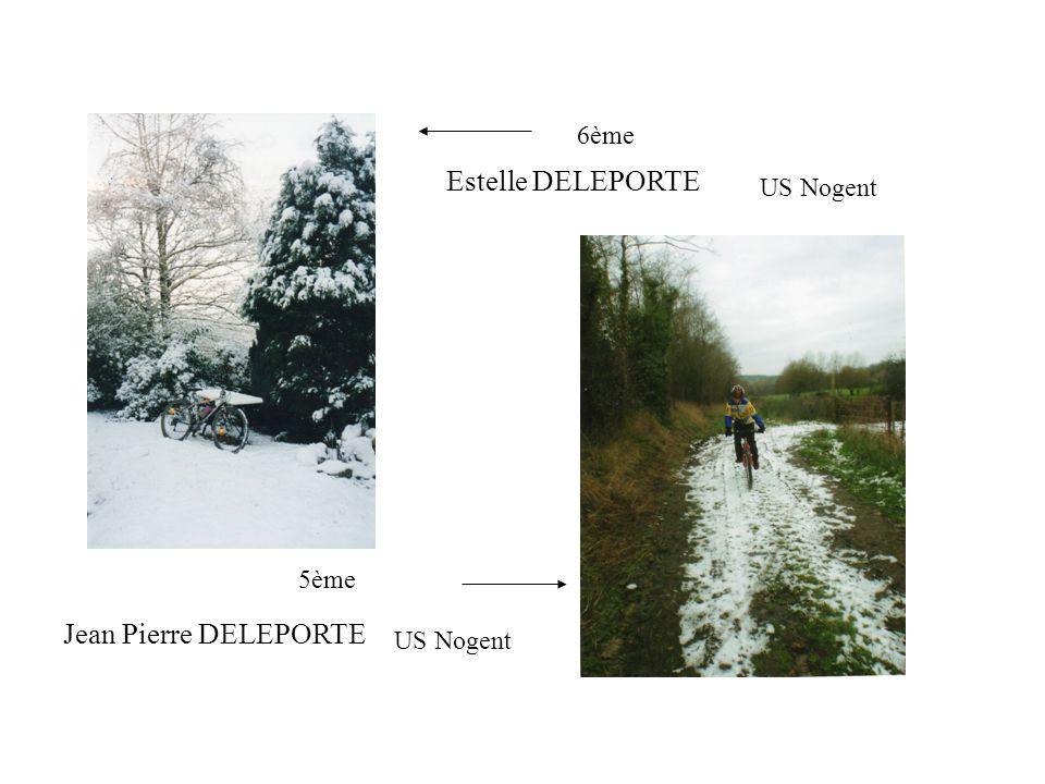 6ème Estelle DELEPORTE US Nogent 5ème Jean Pierre DELEPORTE US Nogent