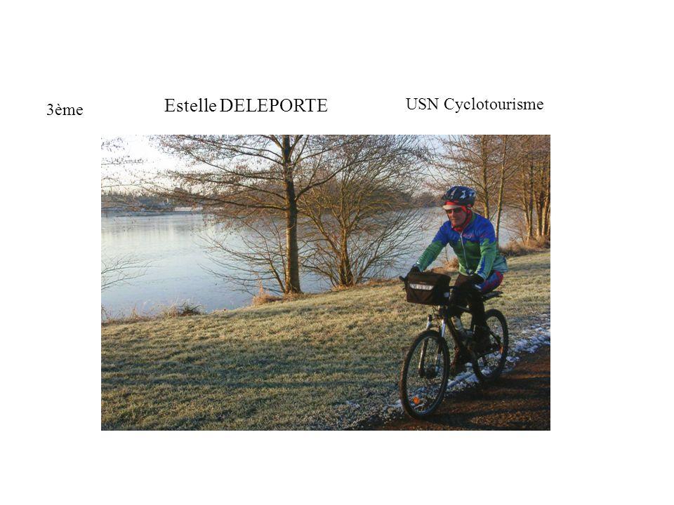 Estelle DELEPORTE USN Cyclotourisme 3ème