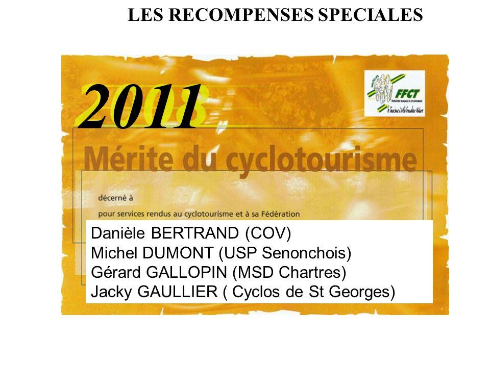 2011 LES RECOMPENSES SPECIALES Danièle BERTRAND (COV)