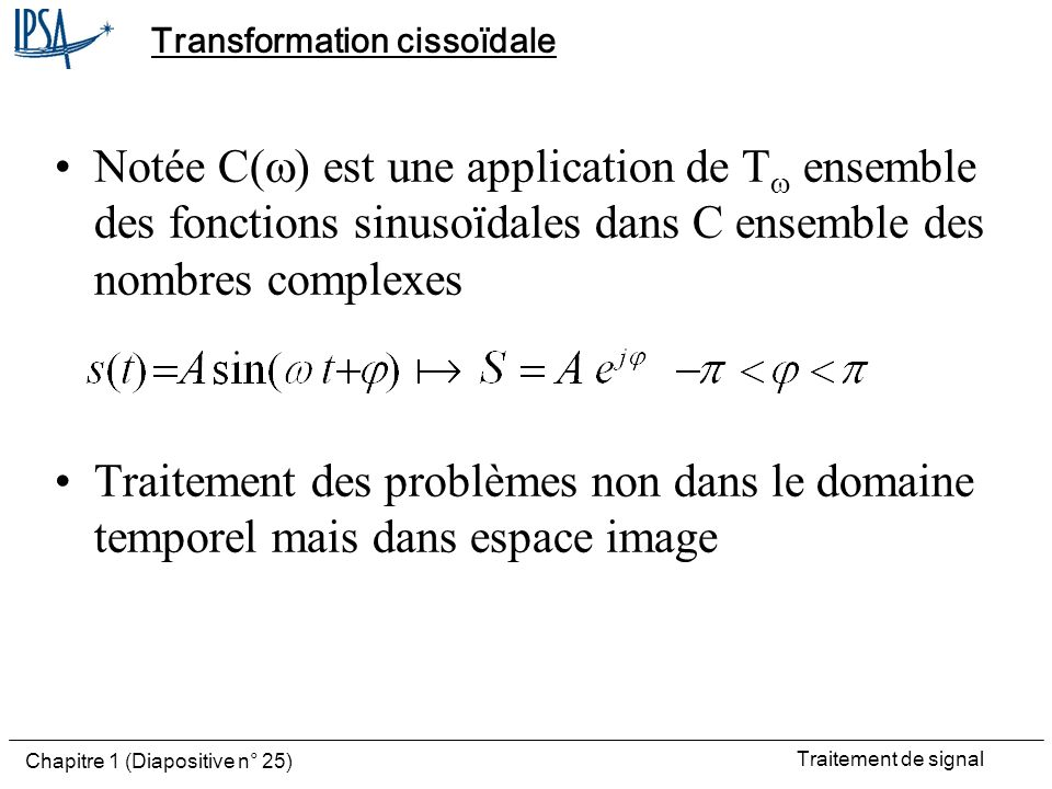 Transformation cissoïdale