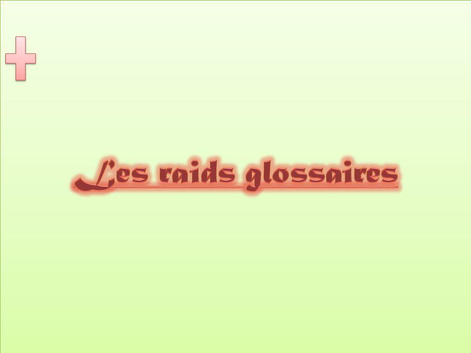 Les raids glossaires