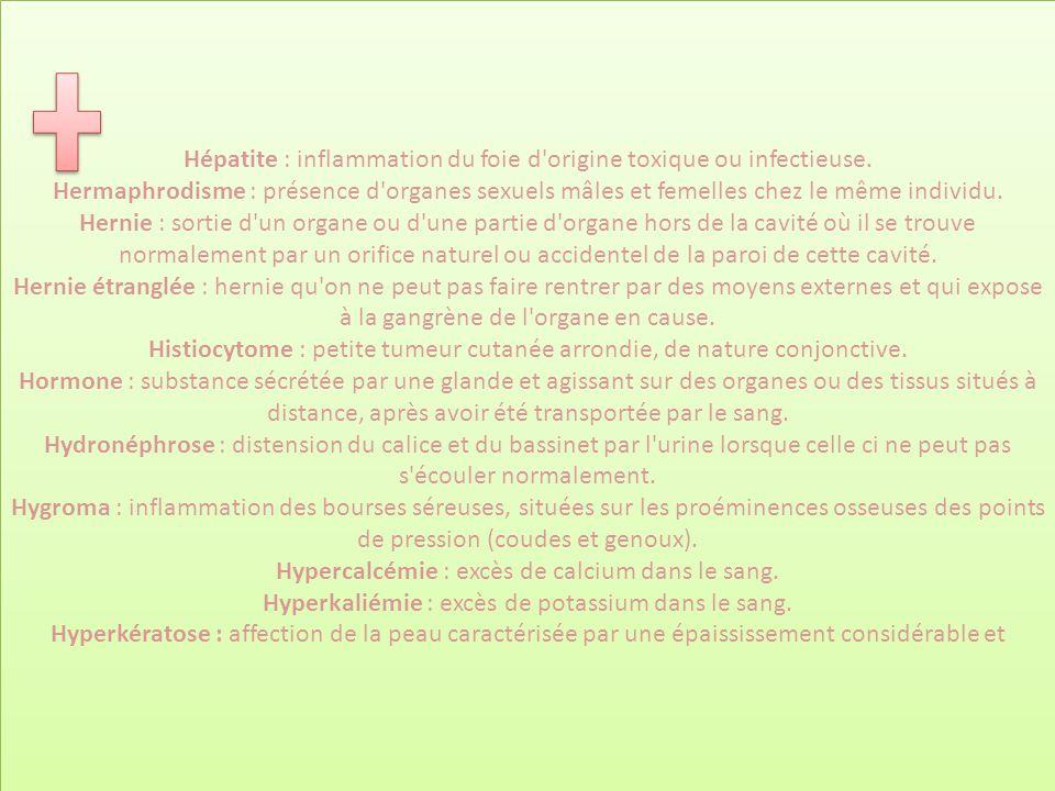 Hépatite : inflammation du foie d origine toxique ou infectieuse