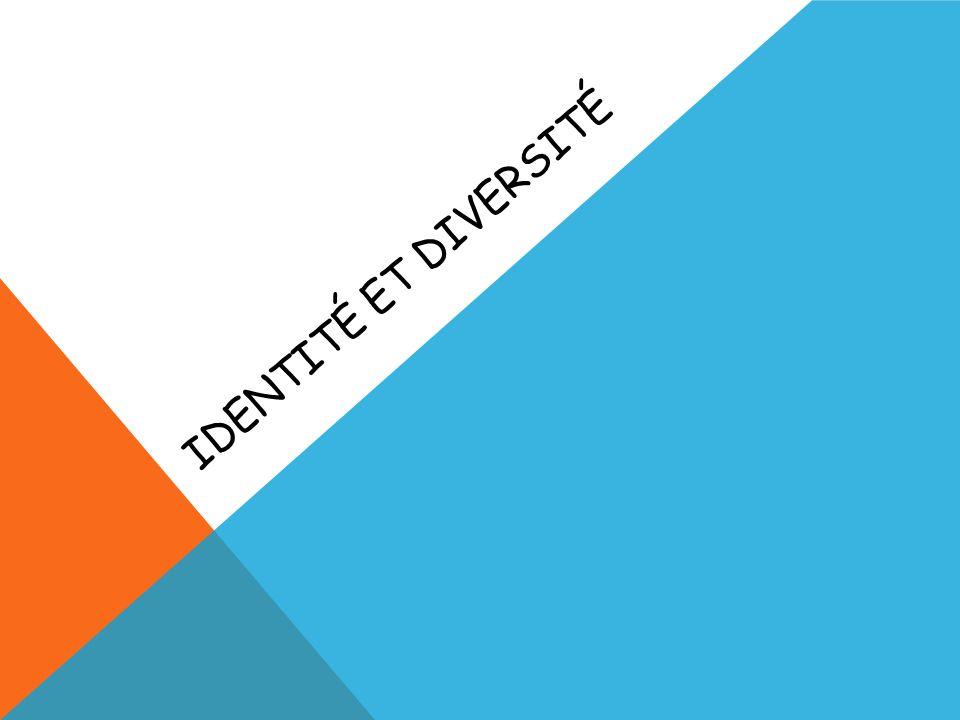 Identité et diversité