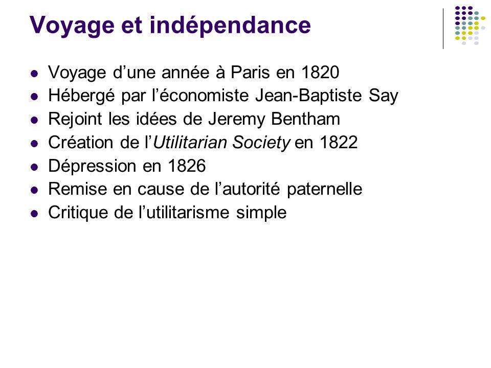 Voyage et indépendance