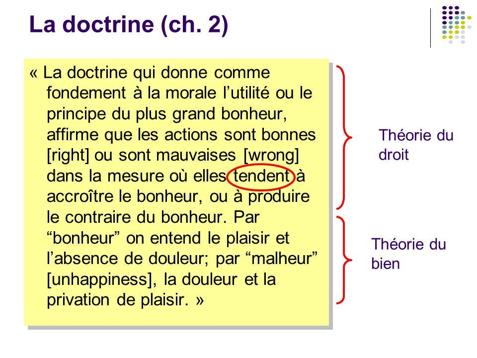 La doctrine (ch. 2)