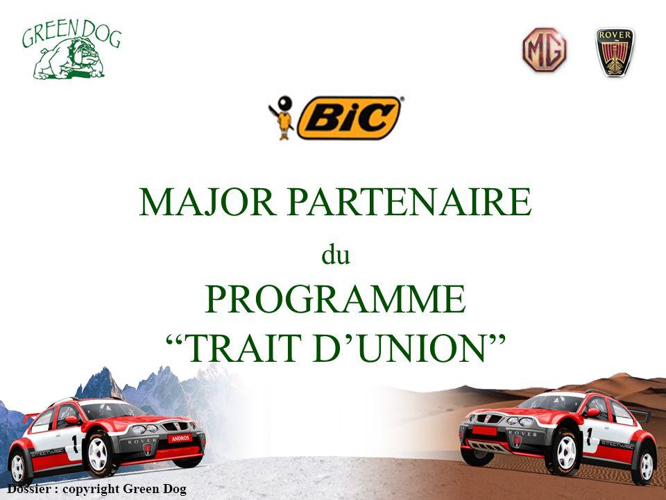 MAJOR PARTENAIRE PROGRAMME TRAIT D'UNION du