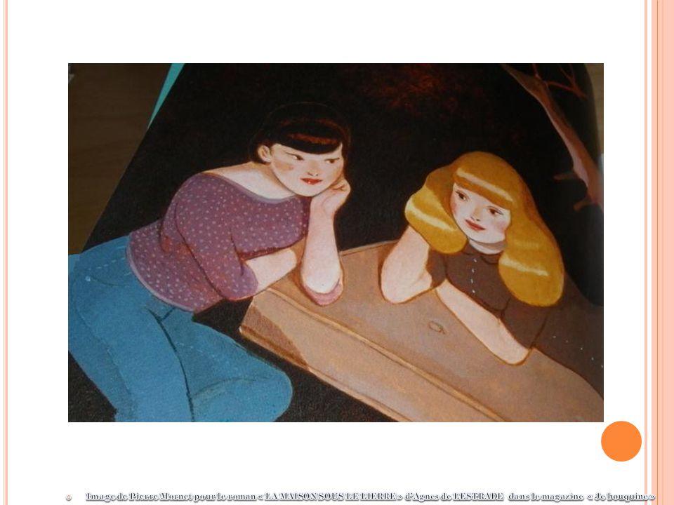 Image de Pierre Mornet pour le roman « LA MAISON SOUS LE LIERRE » d'Agnes de LESTRADE dans le magazine « Je bouquine »