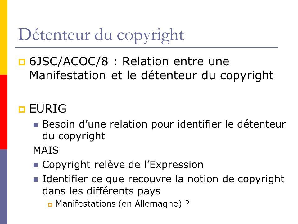 Détenteur du copyright