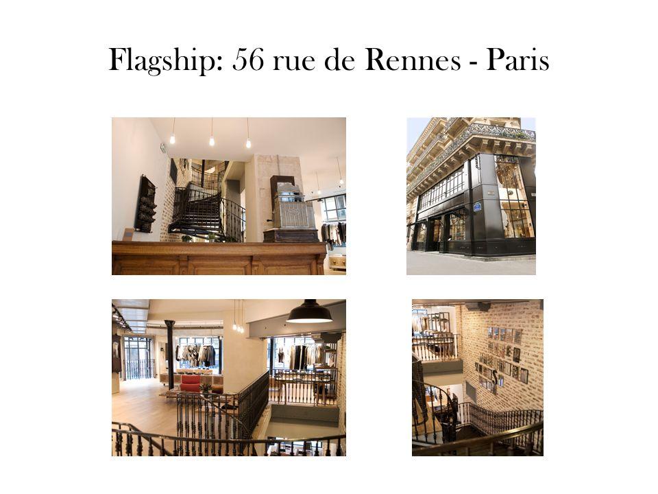 Flagship: 56 rue de Rennes - Paris
