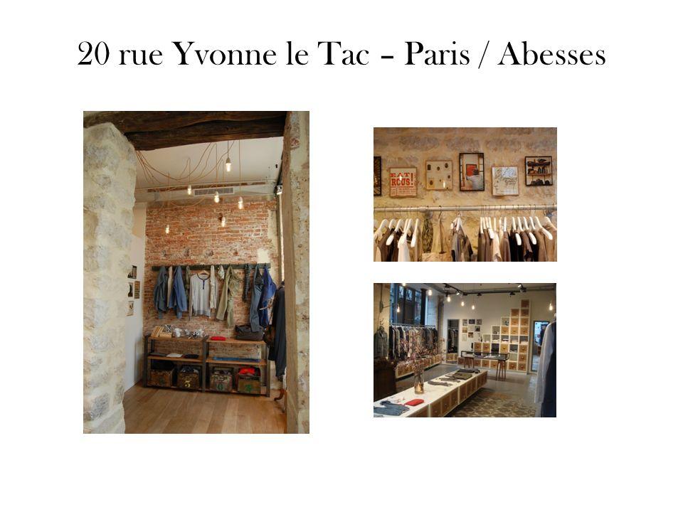 20 rue Yvonne le Tac – Paris / Abesses