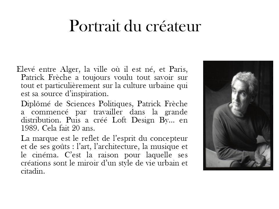Portrait du créateur