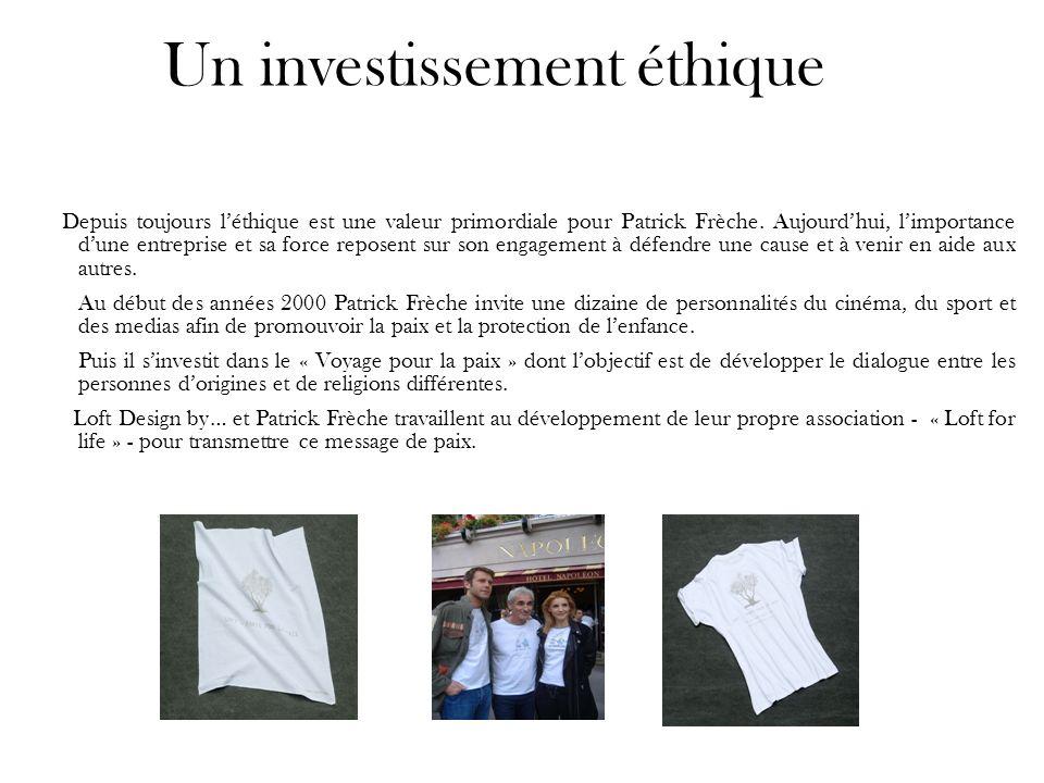 Un investissement éthique