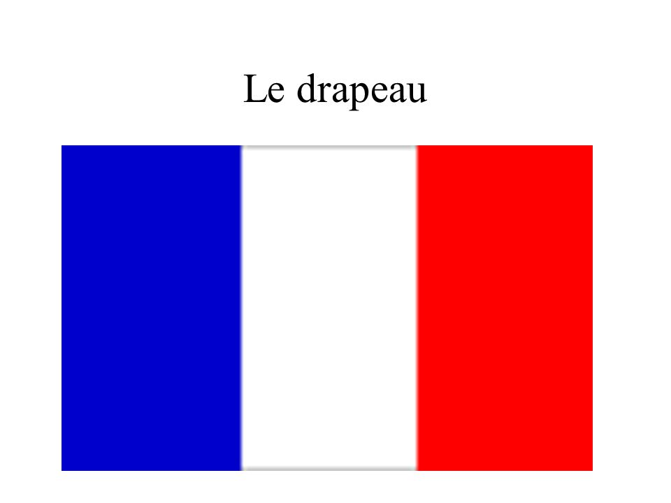 Le drapeau