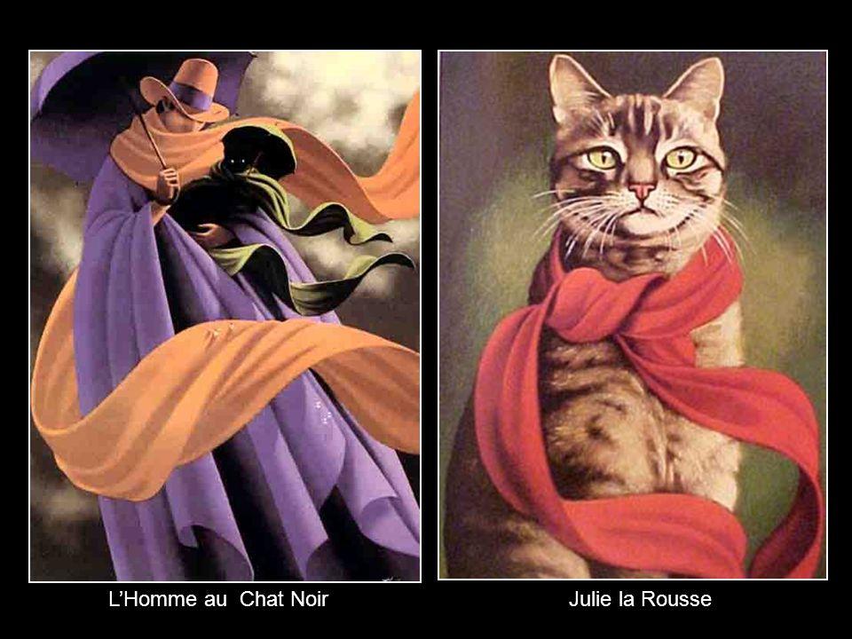 L'Homme au Chat Noir Julie la Rousse