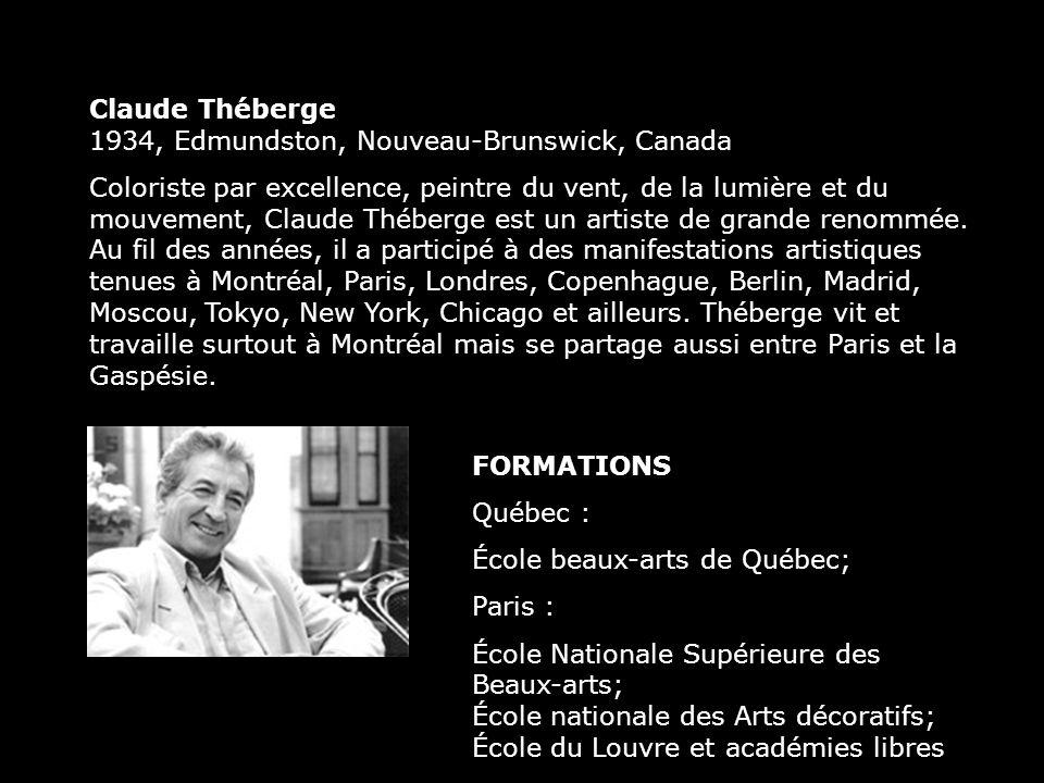 Claude Théberge 1934, Edmundston, Nouveau-Brunswick, Canada