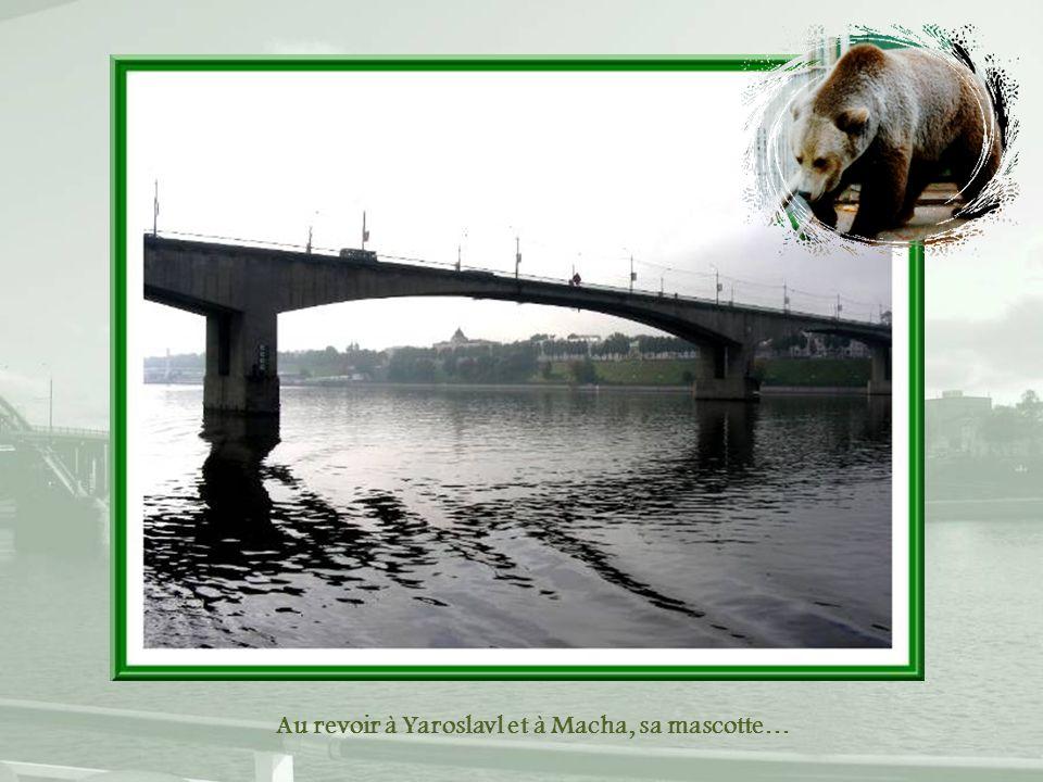 Au revoir à Yaroslavl et à Macha, sa mascotte…