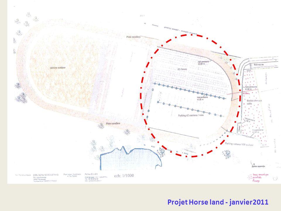 Projet Horse land - janvier2011