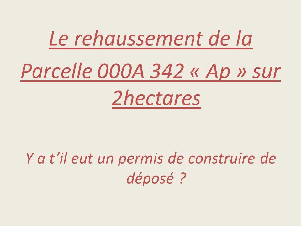 Parcelle 000A 342 « Ap » sur 2hectares