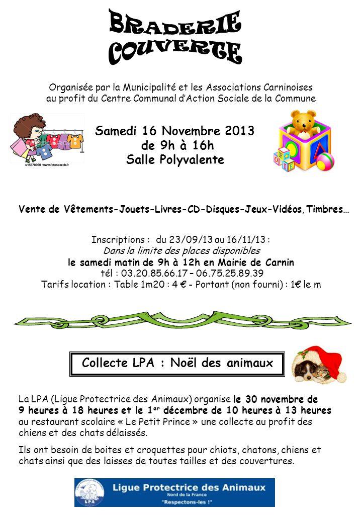 Collecte LPA : Noël des animaux