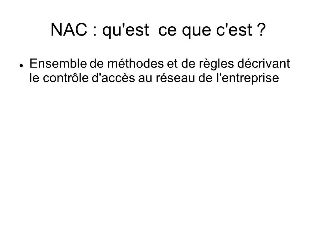 NAC : qu est ce que c est .