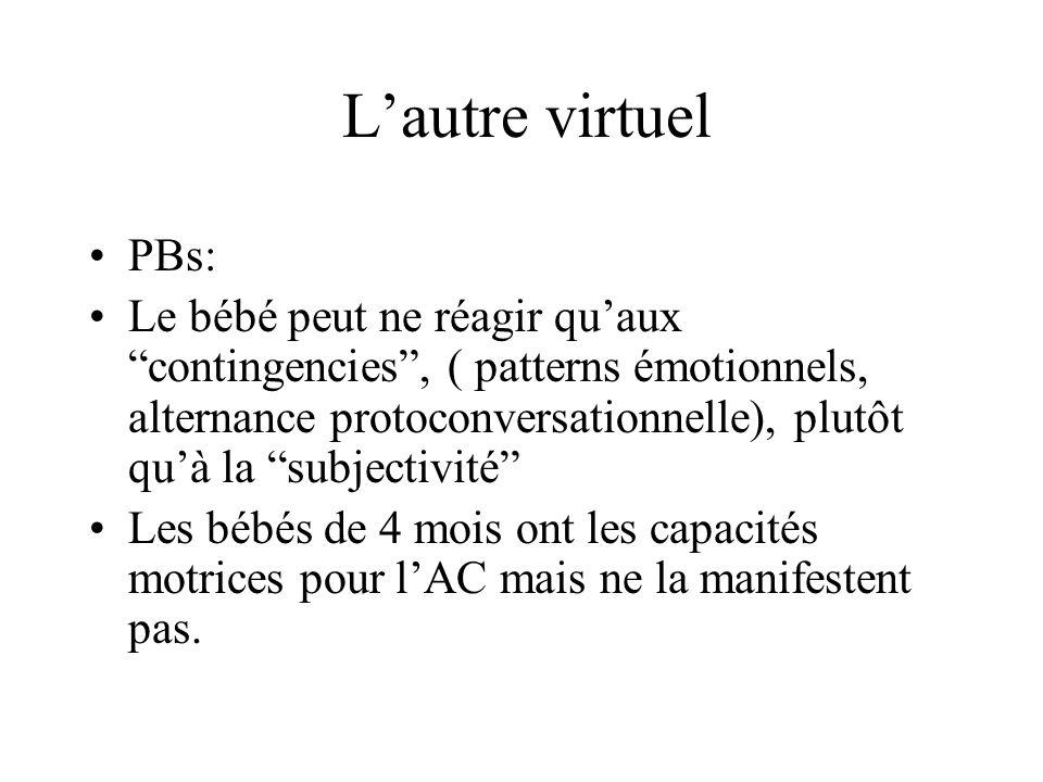 L'autre virtuelPBs: