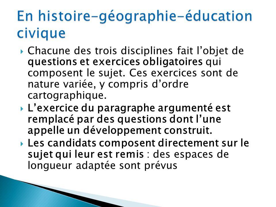 En histoire-géographie-éducation civique