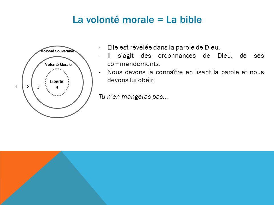 La volonté morale = La bible