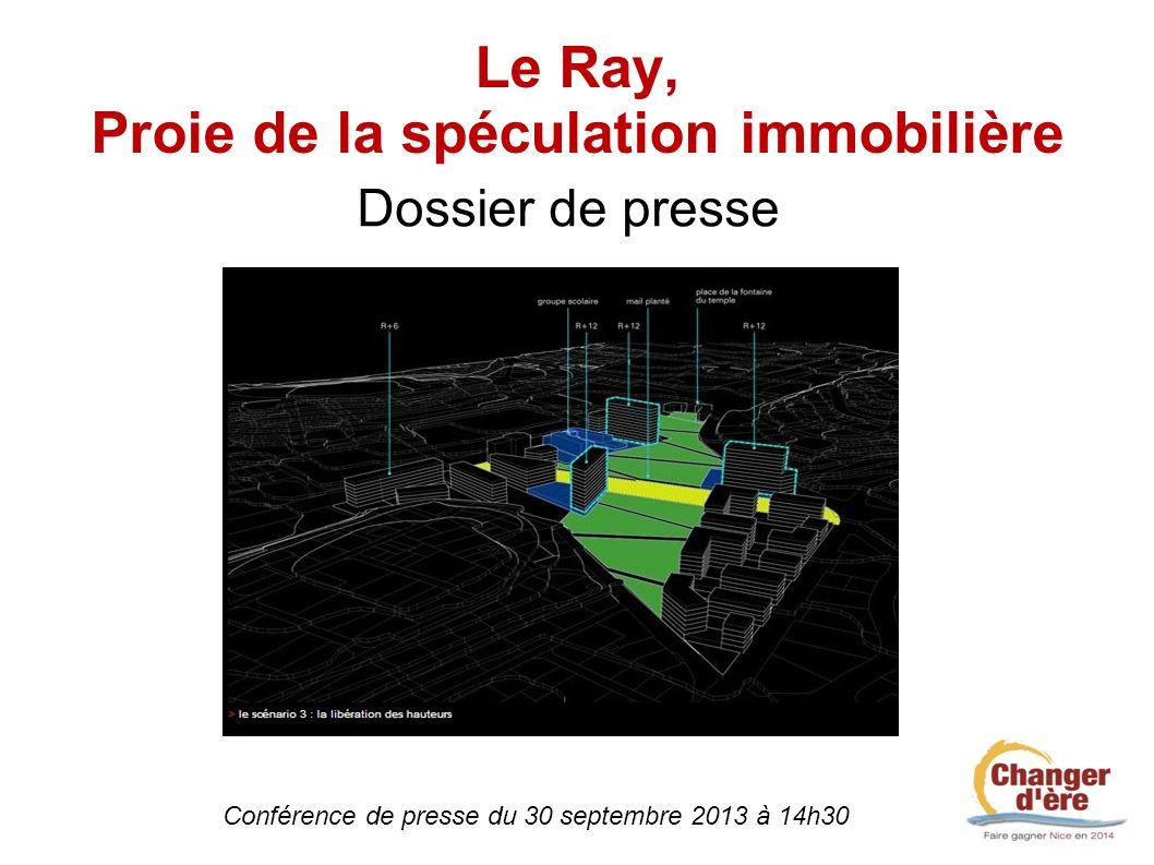 Le Ray, Proie de la spéculation immobilière
