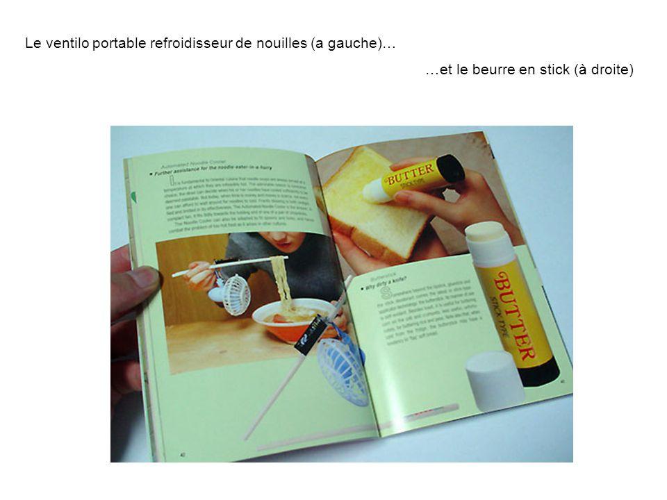 Le ventilo portable refroidisseur de nouilles (a gauche)…