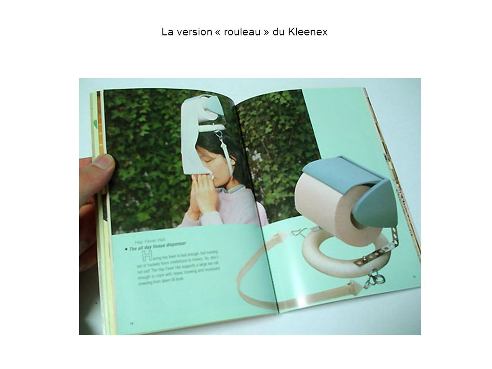 La version « rouleau » du Kleenex