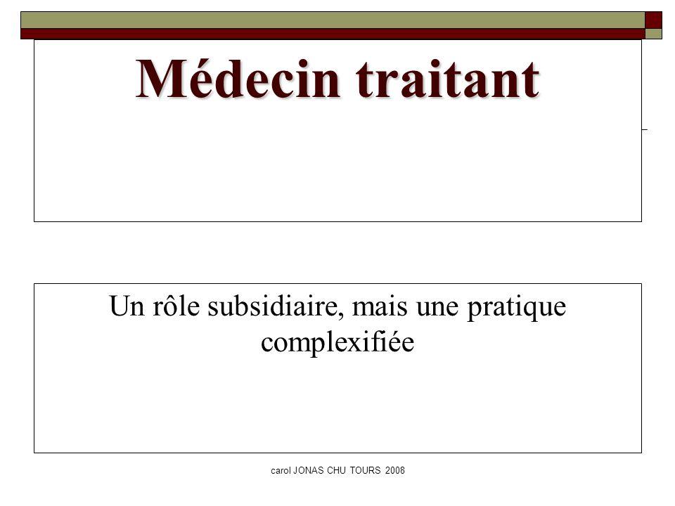 Un rôle subsidiaire, mais une pratique complexifiée